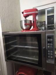 Batedeira Kitchenaid Profissional + Forno Prática Hpe80