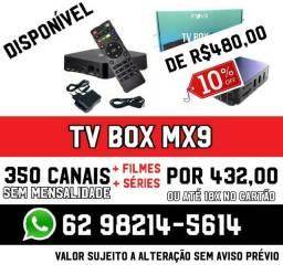 Tv box na promoção