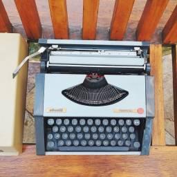 Passou por revisao Maquina de datilografia antiga - antiguidade