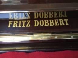 Título do anúncio: Piano vertical Fritz Dobbert