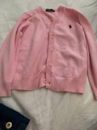 Blusa rosa polo