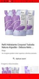 Kit c/ 3 unidades de Refil idratante corporal algodão natura todo dia