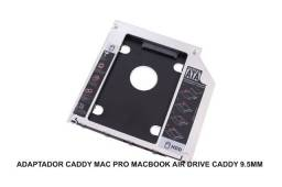 Adaptador Caddy Mac Pro Macbook Air Drive Caddy 9.5mm