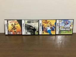 4 Jogos paralelos para Nintendo DS