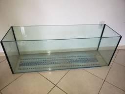 Aquário 280 L com vidro ø10,00mm