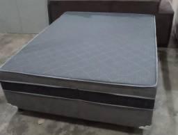 Título do anúncio: Cama box casal 07 cm com entrega gratis pela fabrica