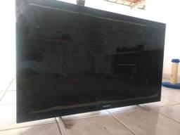 TV Sony com defeito.