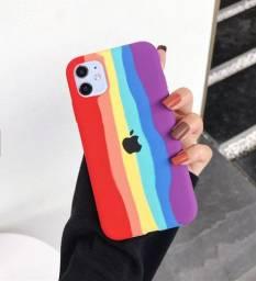 Capinha para Iphone Arco Iris - Diversos modelos