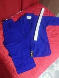 Kimono infantil Seishin - azul (judô, jiu jitsu)
