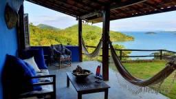 Vendo casa em Paraty com vista para o mar