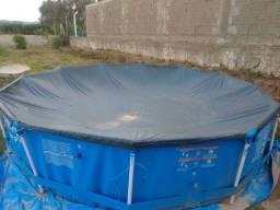 Piscina desmontável 6.473 litros