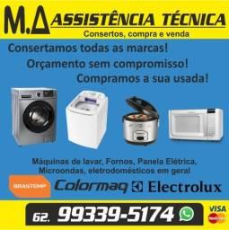 Consertamos Maquinas de Lavar, Lava Louças, Lava e Seca