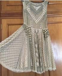 Título do anúncio: Vestido de festa bordado