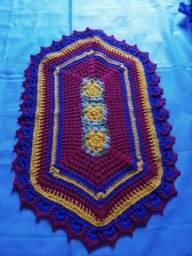 Título do anúncio: Vendo tapetes crochê. A partir de 60,00 reais.