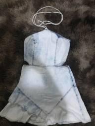 Título do anúncio: Vestido jeans P
