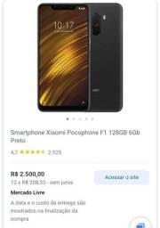 Título do anúncio: Xiaomi Pocophone F1, 128 Gb