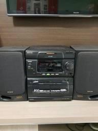 Som Aiwa nsx 500 top3 cd super Bass 450 w pmpo
