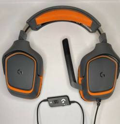 Vendo headset gamer Logitech g231.