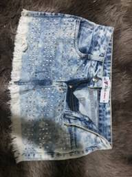 Título do anúncio: Saia jeans 38