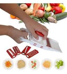 Fatiador De Frios Legumes Queijo Manual 5 Em 1 Picador Alho novo lacrado