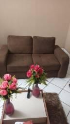Título do anúncio: Sofa marrom