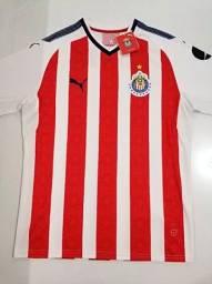 Camisa Chivas Guadalajara Home Puma 17/18 - Tamanho: G