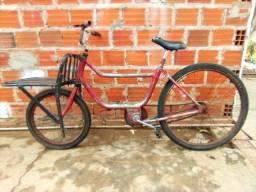 Título do anúncio: Vendo bicicleta cargueira usada