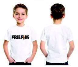 Camisa infantil Free Fire
