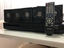 Título do anúncio: Home teather Samsung com 5 caixas de som