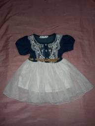 Vestido infantil seminovo