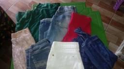 Lote de roupa pra bazar tem mais de 35 peças não faço entrega