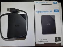 HD 1tb  externo usb 3,0