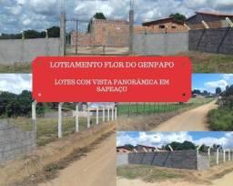 Loteamento Flor do Genipapo, vista panorâmica lotes em Sapeaçu no valor de R$ 15.000,00