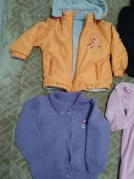 Barato-Tam 3 Anos-Casacos/Sobre Leg/ Vestidos Veludo/Camisa /Luvas- Nonoai-ZSul-Poa