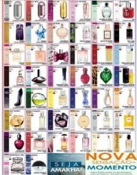 Perfumes importados de bolso