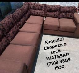 Lavagem a seco de colchões, tapetes, sofás em geral