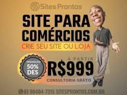 Site para comércios