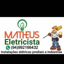 eletricista predial industrial  em geral