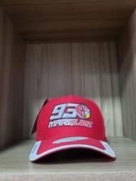Boné HONDA Marc Marquez 93 moto GP vermelho