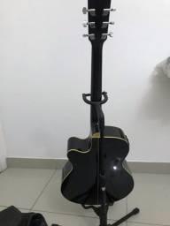 Vendo Capa + suporte pra violão