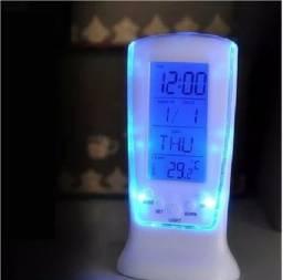 Relógio/Despertador/Calendário/Termômetro/Timer