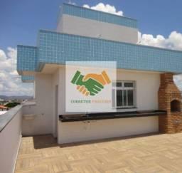 Cobertura nova com 3 quartos em 148m2 á venda no bairro Rio Branco em BH