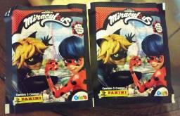 Pacotes de figurinhas Miraculos  As aventuras de Ladybug e Cat Noir Valor unitário
