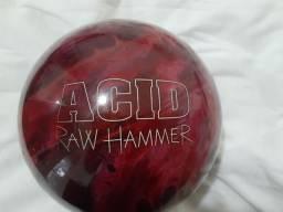 Título do anúncio: Vendo Bola de Boliche Acid Raw Hammer U.S.A,, sem Furos  - 7Kg