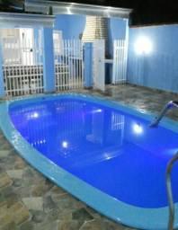 Casa com piscina em praia de leste.leia todo anuncio .junho e julho 320,00 fim de semana