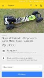 Skate motorizado Dropboards