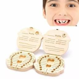 Caixa Porta dentes e cordão umbilical