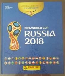 Álbum Copa do Mundo 2018 Rússia Completo