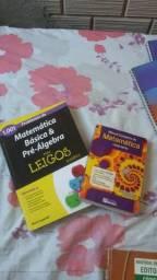 Vendo livros de matemática 30 reais