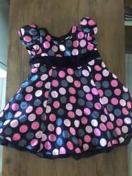 Vestido de menina 2 anos